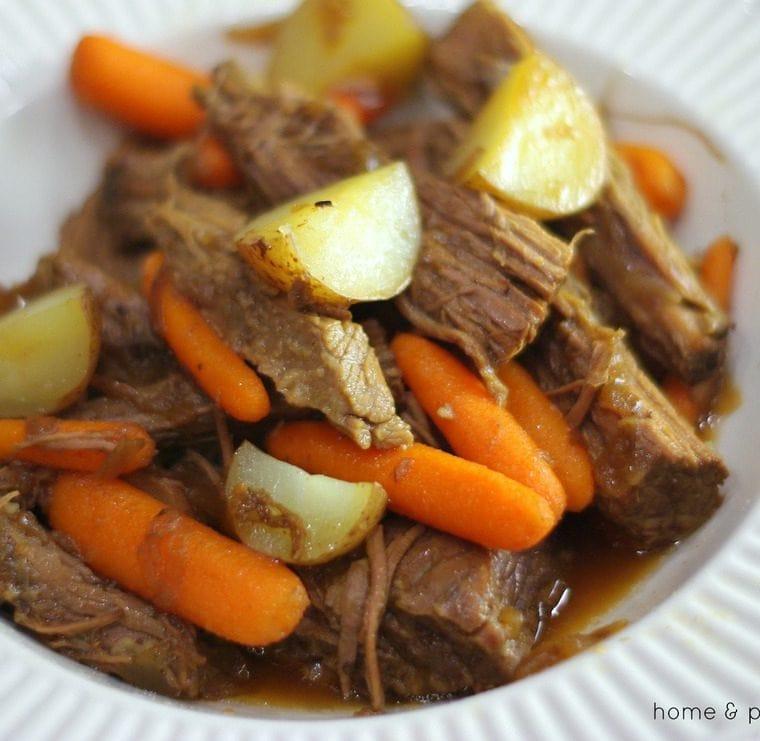 Easy French Onion Beef Brisket