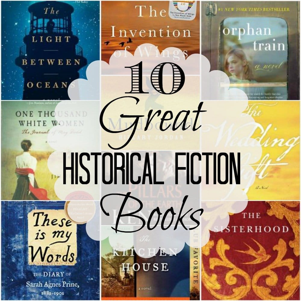 10 Great Historical Fiction Books You Must Read
