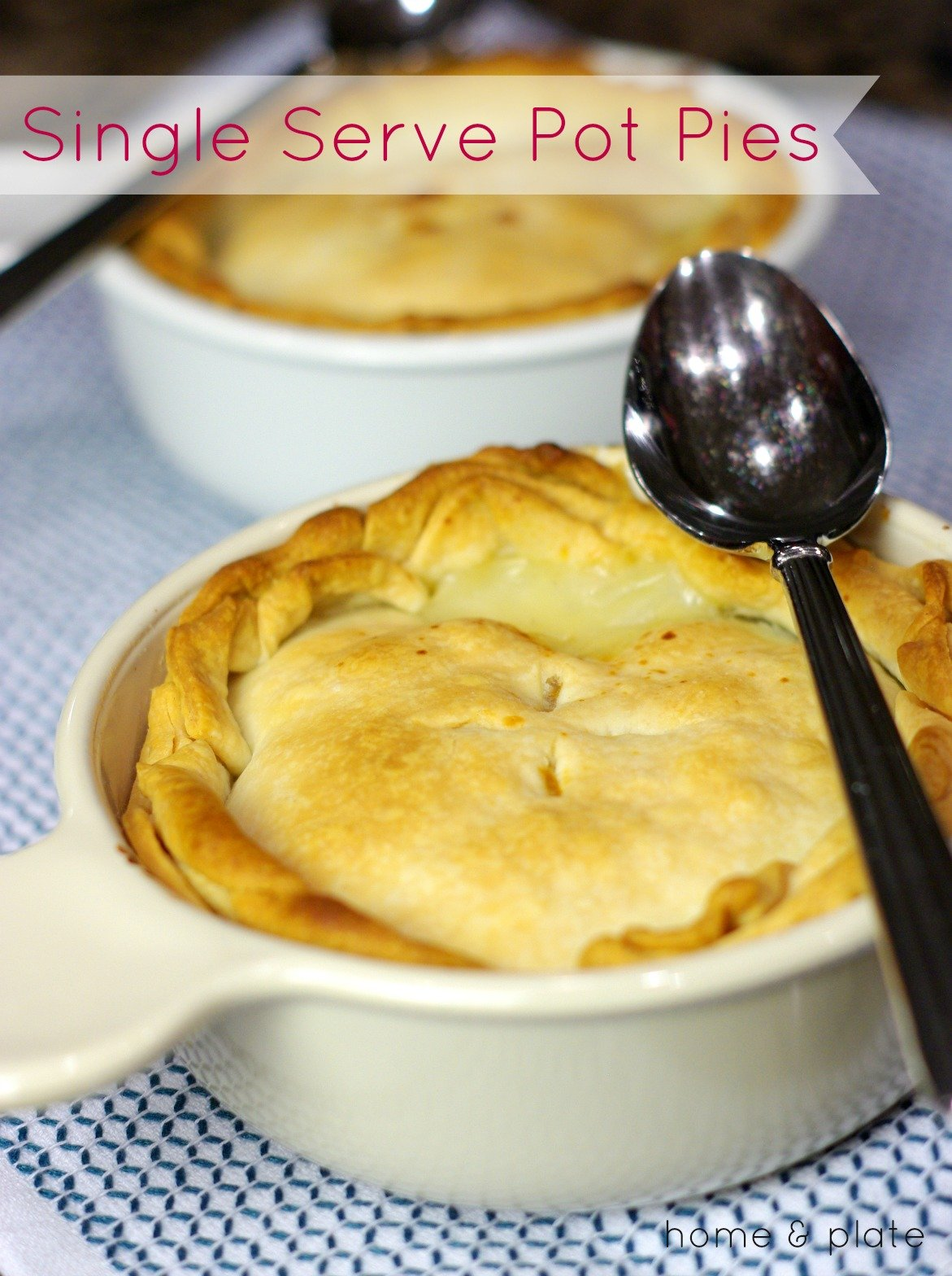 Individual (Mini) Chicken Pot Pies | Serve up this classic pot pie in a mini version