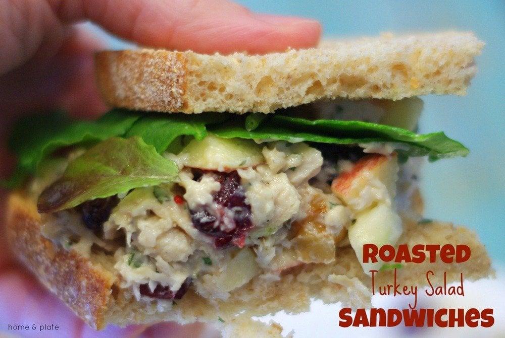 Roasted Turkey Salad Sandwiches