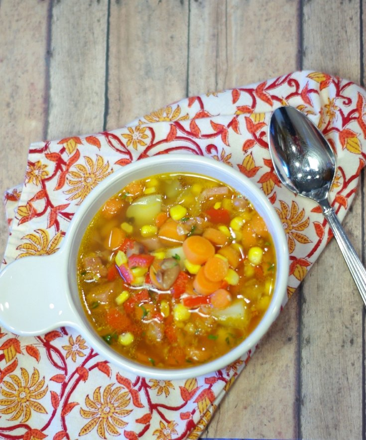Honeybaked Ham Vegetable Soup