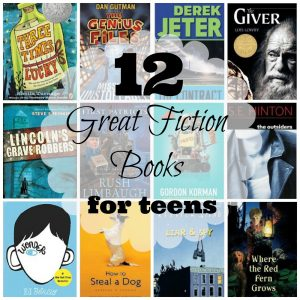 12 Great Fiction Books For Your Teen