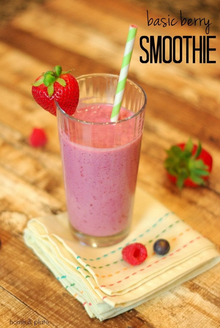 Basic Berry Smoothie