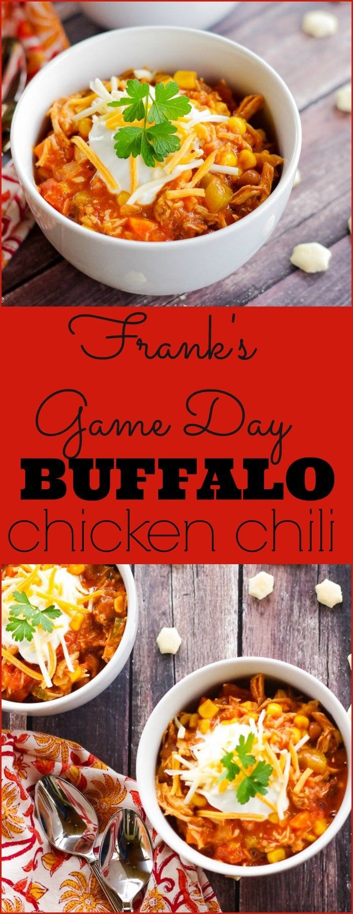 Football season is in full swing and I have the perfect recipe that combines two game day favorites in one - Frank