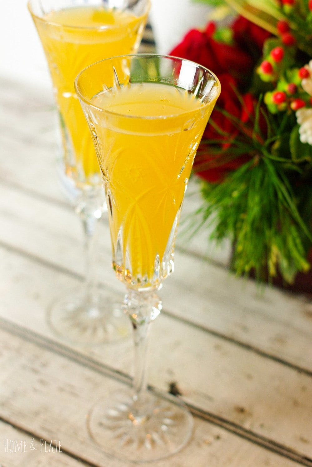 Elderflower Bellinis