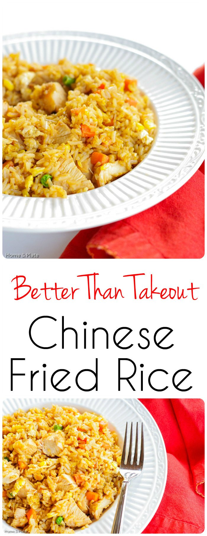 Better Than Takeout Chinese Fried Rice - My Better Than Takeout Chinese Fried Rice recipe uses 5 simple ingredients in one dish that packs protein and veggie goodness all in one.