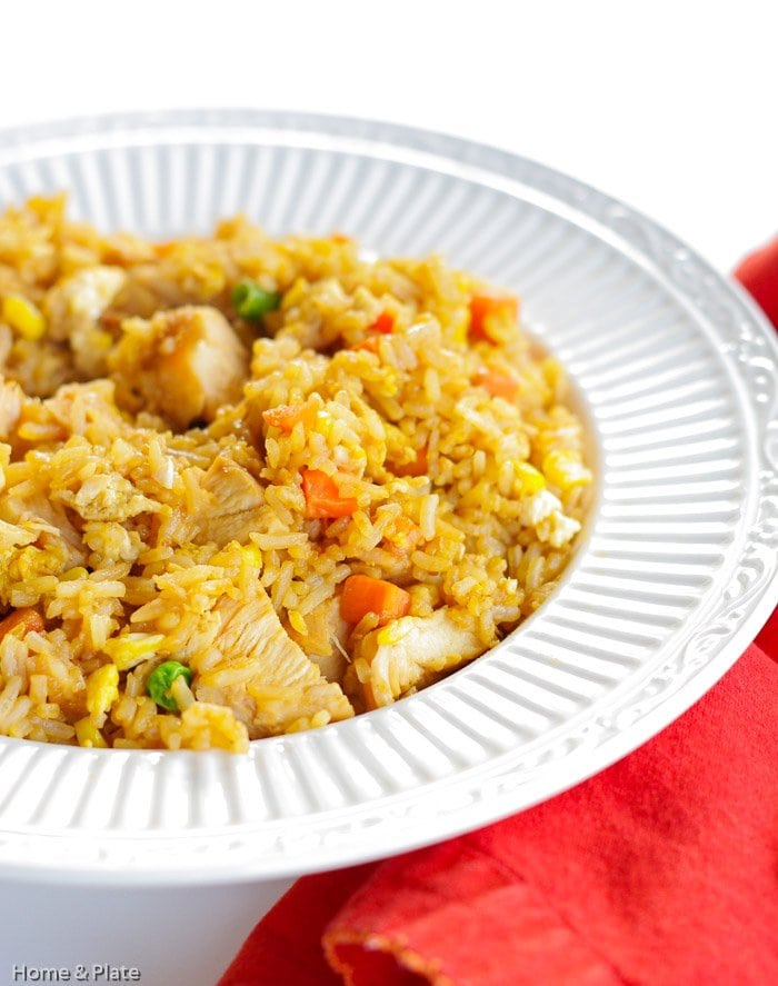 Chicken Fried Rice (Better Than Takeout)