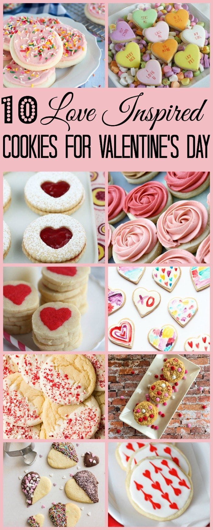 10 Love Inspired Cookies for Valentine