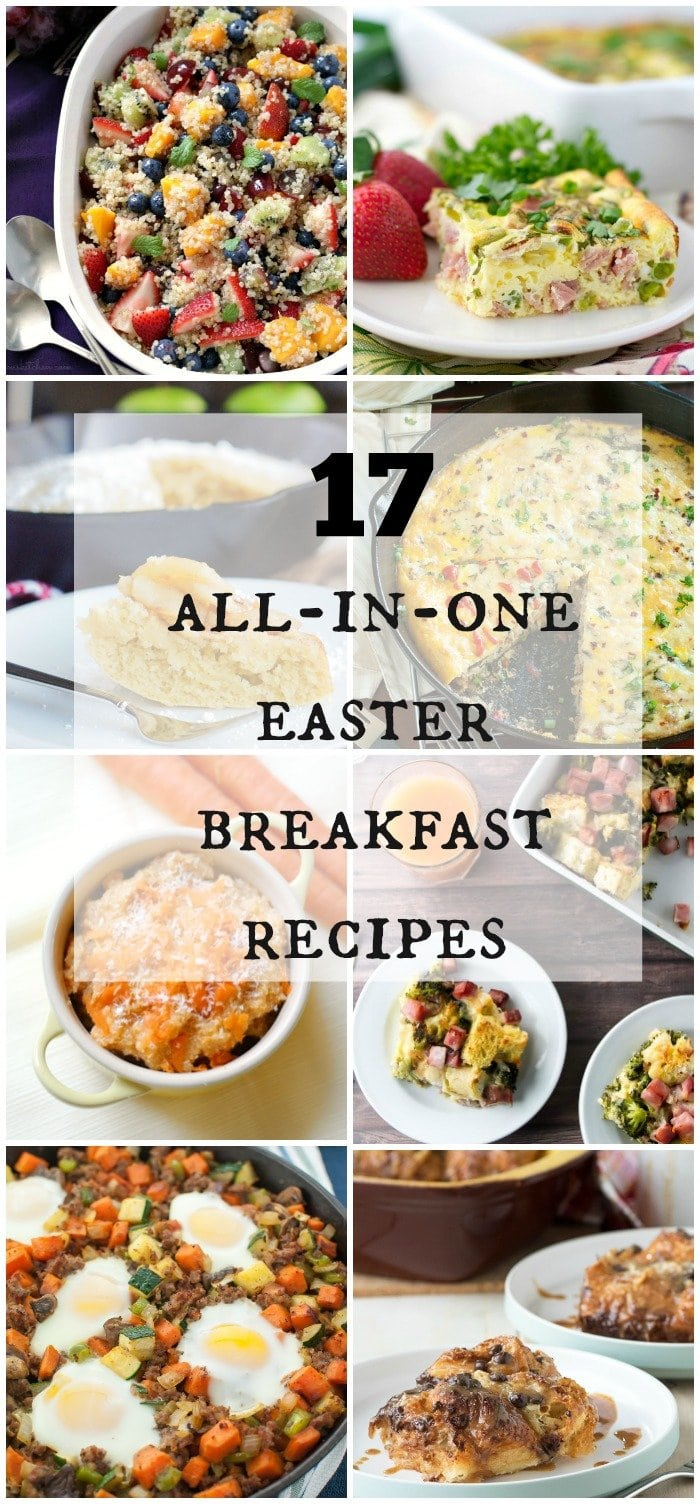 17 All-In-One Easter Breakfast Recipes