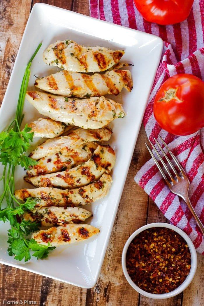 Chargrilled Lemon Garlic Chicken