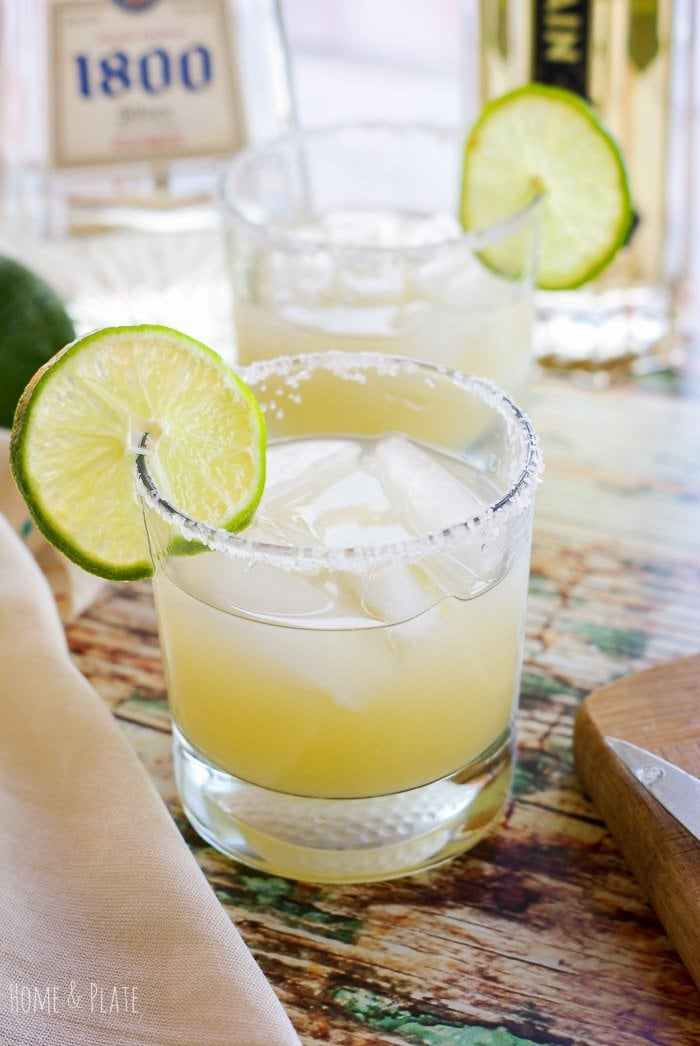 Silver Elderflower Margarita