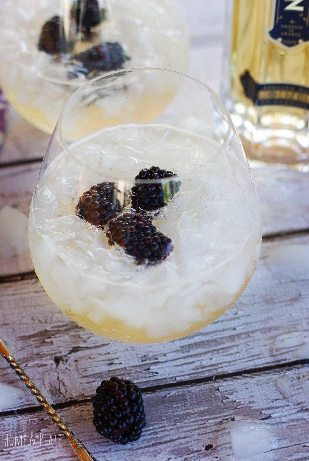 Melon Fizz Cocktail