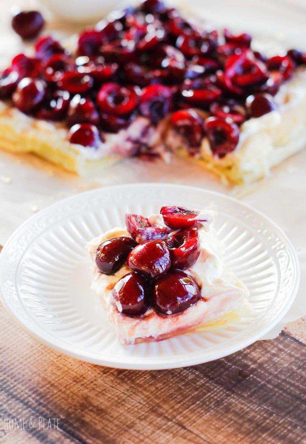 Cherry Tart Puff Pastry