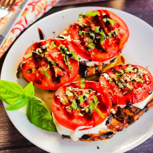Caprese Chicken (Easy Summer Recipe)