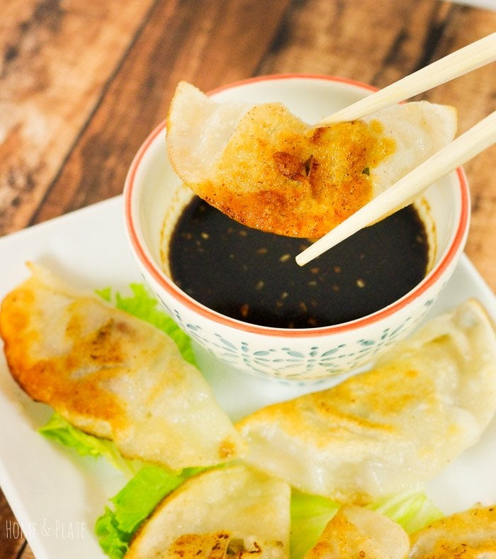 Homemade Chinese-Style Potstickers