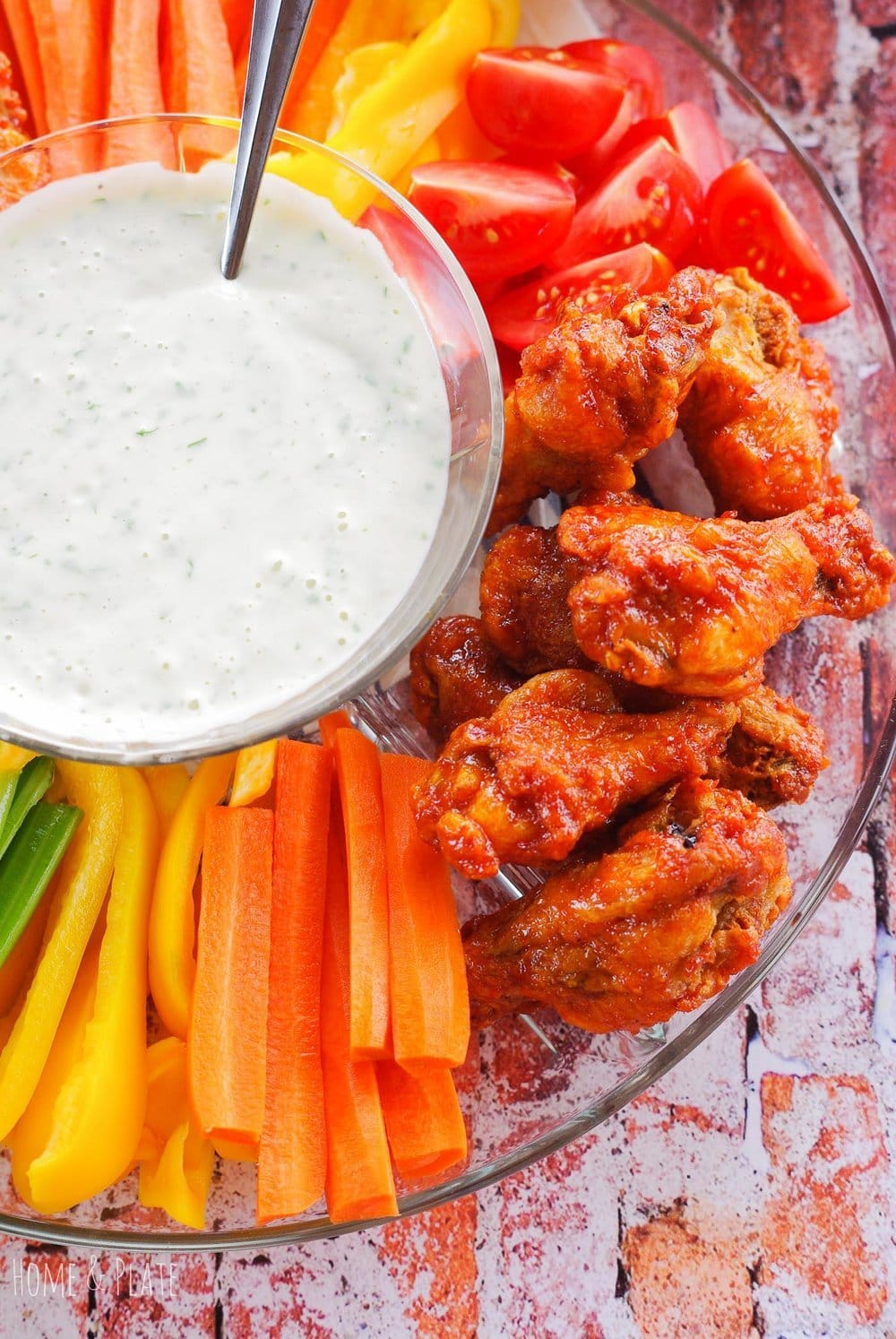 Cilantro Ranch Dipping Sauce – for wings & veggies