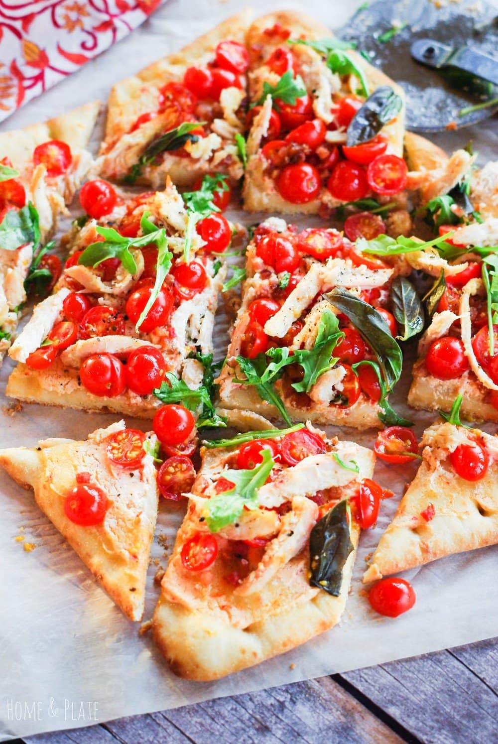 Chicken BLT Flatbread