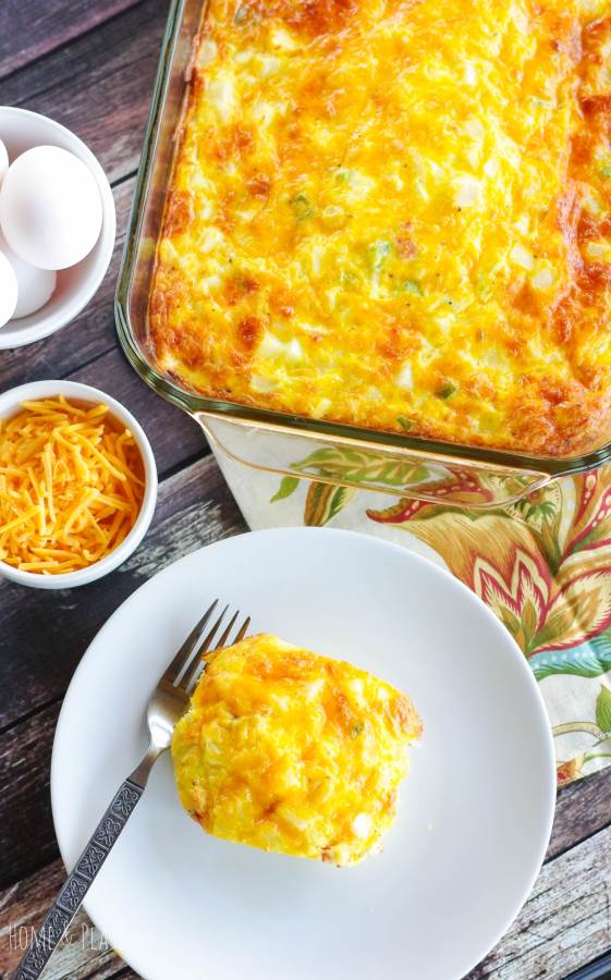 Hash Brown Egg Bake Casserole