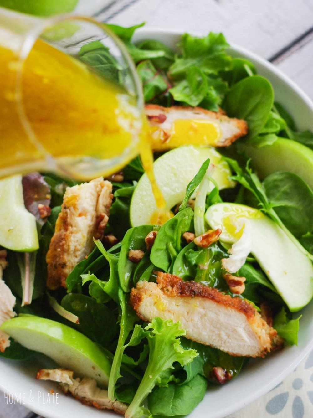 Granny Smith Apple Pecan Chicken Salad