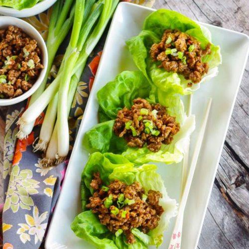 PF Changs Lettuce Wraps (Copycat)