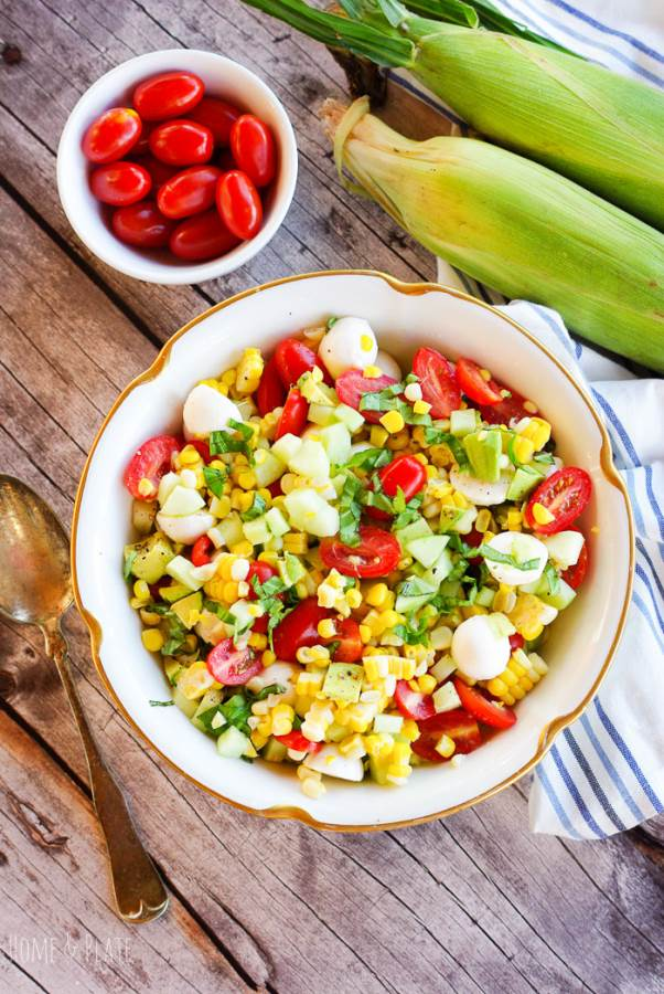 Summer Corn Salad – Healthy and Easy to Make