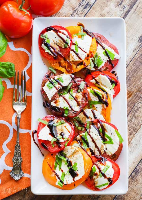 Tomatoes Caprese Salad