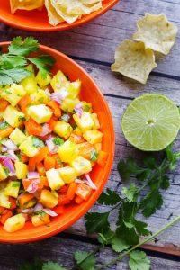 Pineapple Pico de Gallo – Fresh Salsa