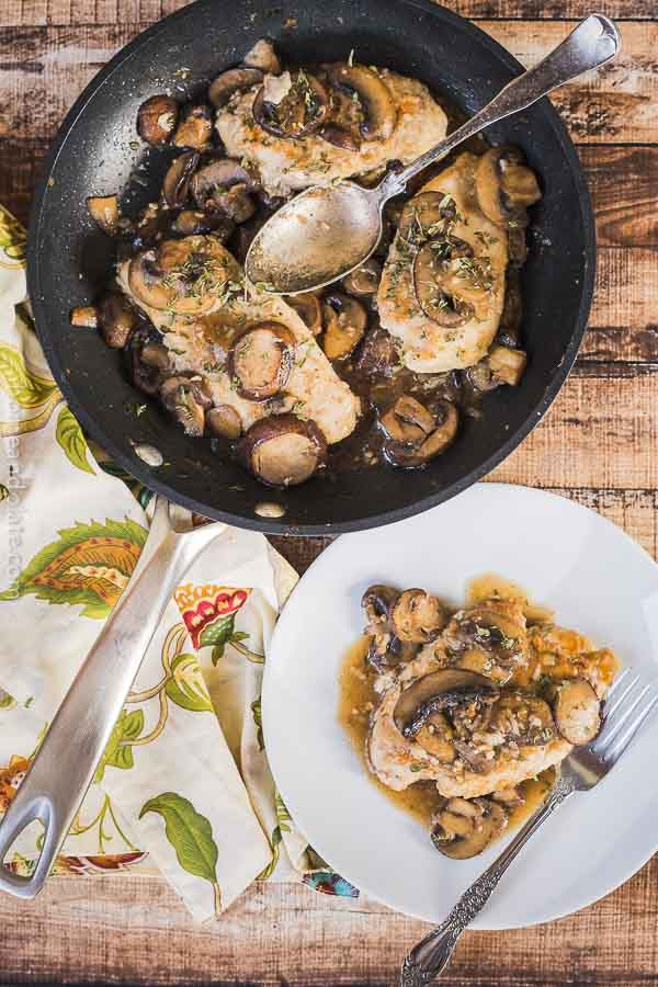 Easy 30 Minute Chicken Marsala   This easy chicken marsala can be made on the stove top in under 30 minutes and is loaded with mushrooms.Easy 30 Minute Chicken Marsala   This easy chicken marsala is my go-to dish for a midweek meal and it can be whipped up in under 30 minutes.