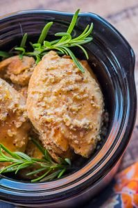 Slow Cooker Apple Cider Chicken