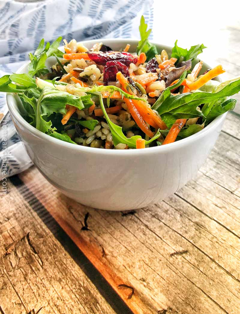Wild Rice Salad – served warm or cold