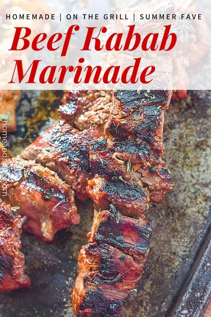 Beef Kabab Marinade   This tangy beef kabab marinade is Korean inspired and perfect for any grilled meat on the barbecue.
