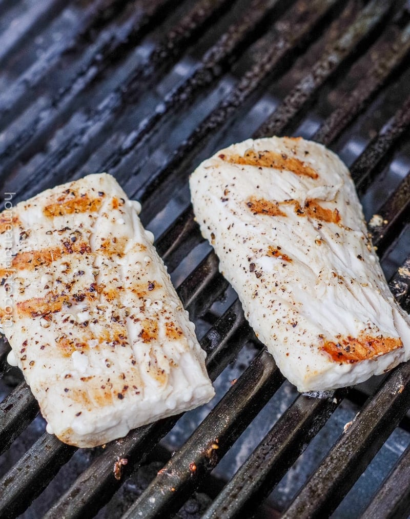 mahi mahi on the grill